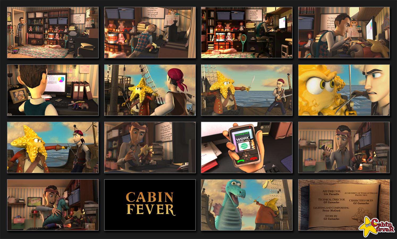 Cabin Fever: A UTD Animated Short