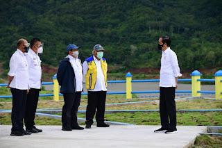 Diresmikan Presiden, Bendungan Napun Gete Tingkatkan Produktivitas Pertanian & Peternakan Di NTT