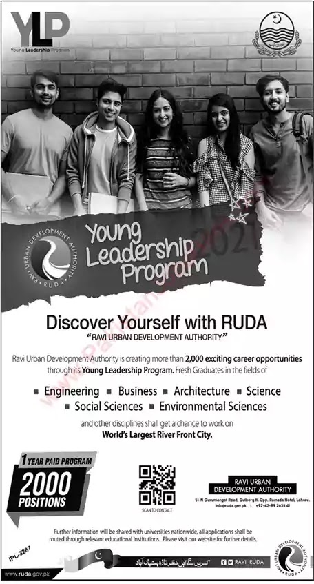 New Jobs in Pakistan Young Leadership Program Lahore Jobs 2021 | Apply Online