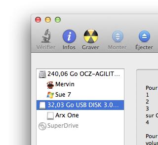 Créer une clé USB Clonezilla sous OS X | Arx One