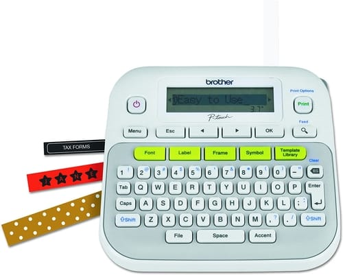 Review Brother P-touch PTD210 Label Maker