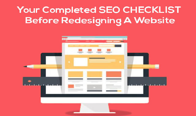 Your Complete Seo Checklist Before Redesigning a Website #infographic