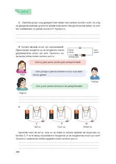 7. Sınıf İngilizce Ders Kitabı Cevapları Dikey Sayfa 208