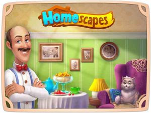 Homescapes MOD APK+DATA Unlimited Money v1.8.0.900 Terbaru 2018