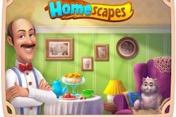 Homescapes MOD APK (MOD Unlimited Money) v3.1.1 Update Terbaru 2019