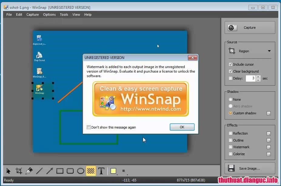 tie-smallDownload WinSnap 5.0.1 Full Cr@ck – Phần mềm chụp ảnh màn hình