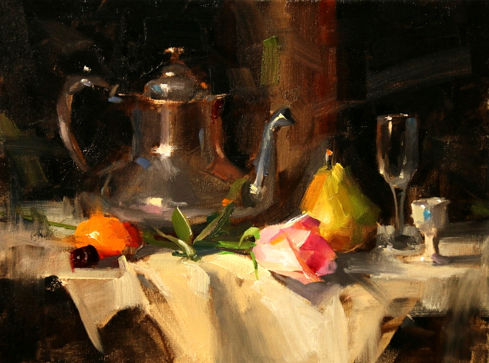 Qiang Huang A Daily Painter Demo At Scottsdale Artists