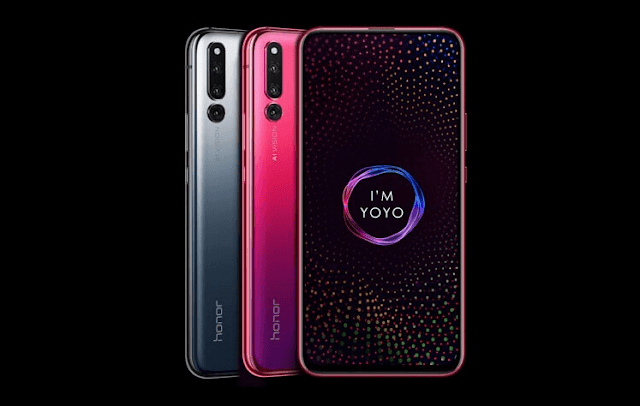 Honor Magic 2 with Screen Slider