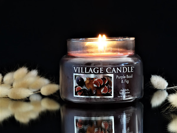 VILLAGE CANDLE | PURPLE BASIL & FIG
