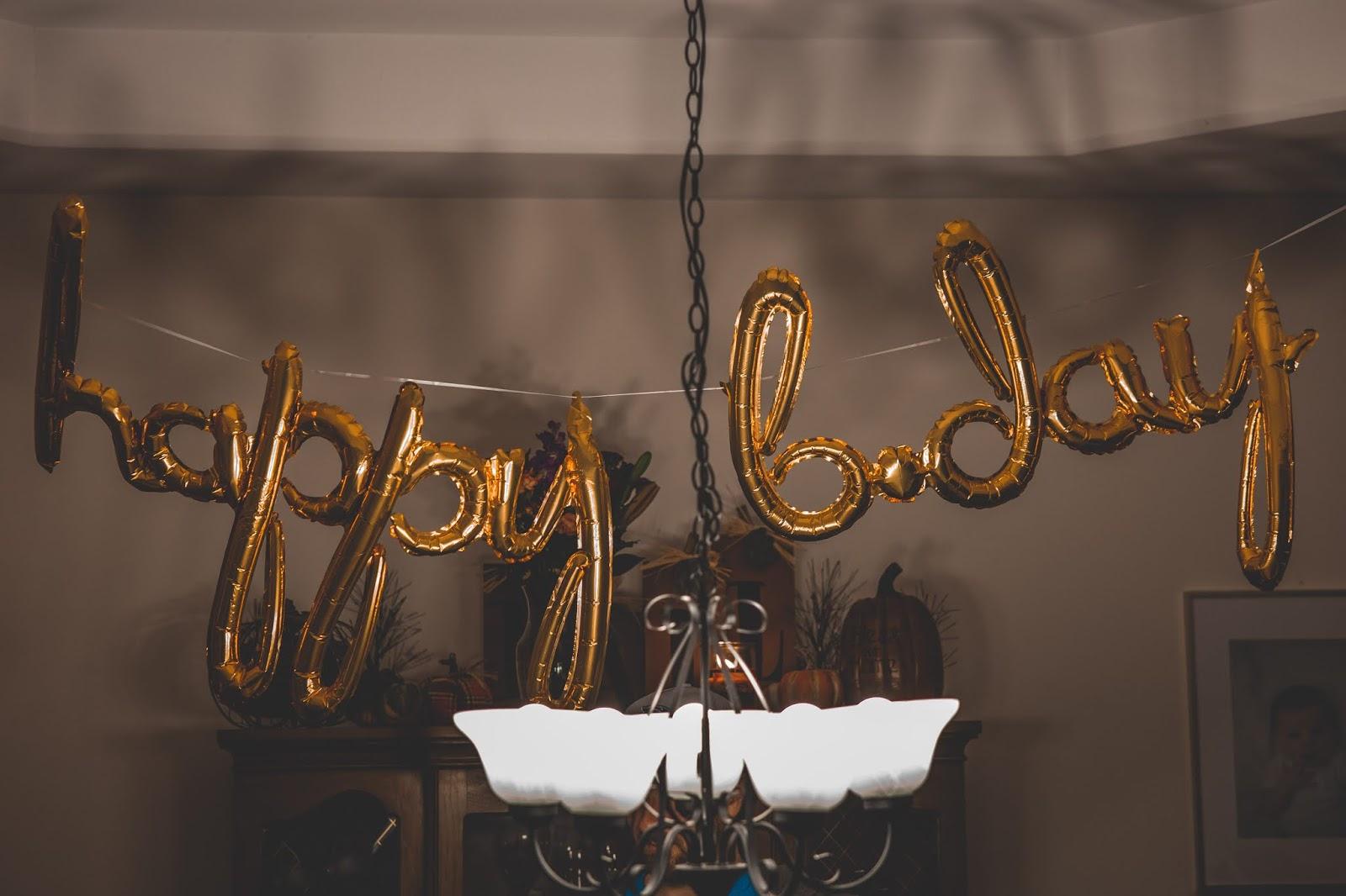 Meu aniversário de 26 anos!