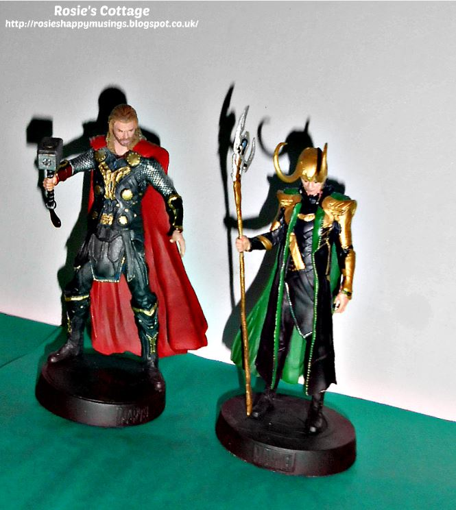 Marvel Hand Painted Loki & Thor