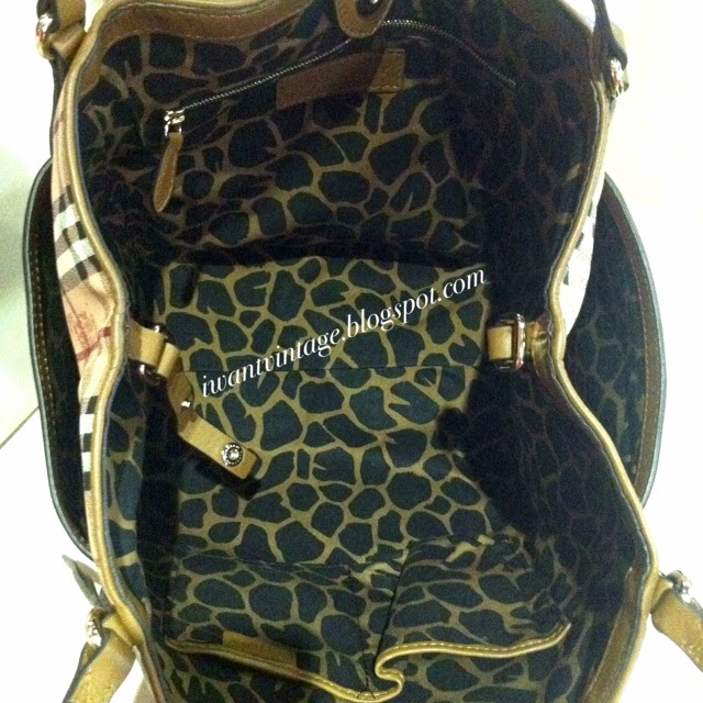 389a179c847a Burberry Haymarket Check Tassel Detail Tote Bag (Limited Edition)