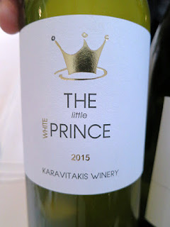 Karavitakis Winery The Little Prince White 2015 - Crete, Greece (88 pts)