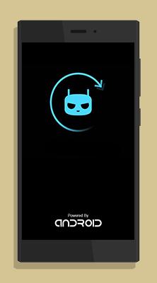 Splashscreen CyanogenMod Lenovo A369I