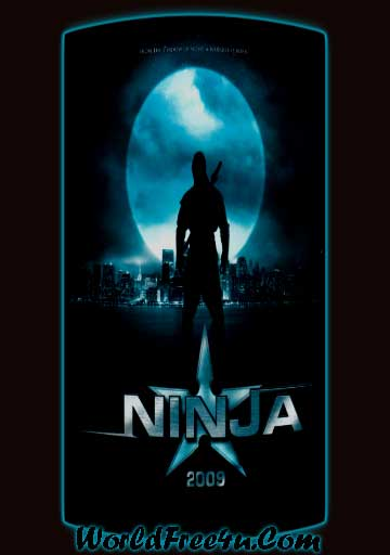 Poster Of Ninja (2009) In Hindi English Dual Audio 300MB Compressed Small Size Pc Movie Free Download Only At worldfree4u.com