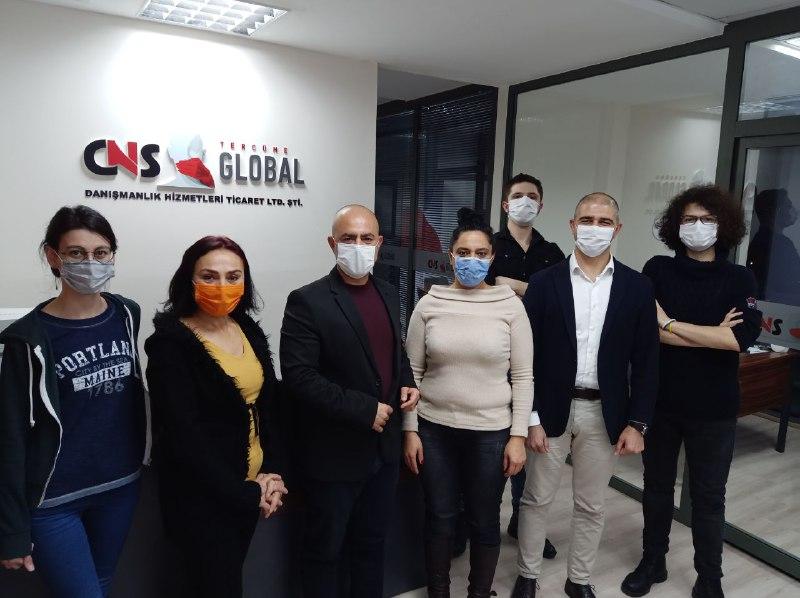 CNS Global Tercüme Ofis İçi Youtube Vlog
