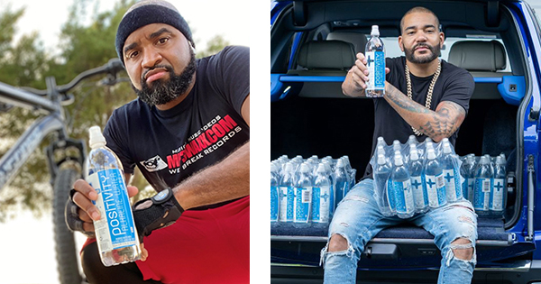 DJ Kayotik and DJ Envy supporting Black-Owned Water Brand, Positivity Alkaline