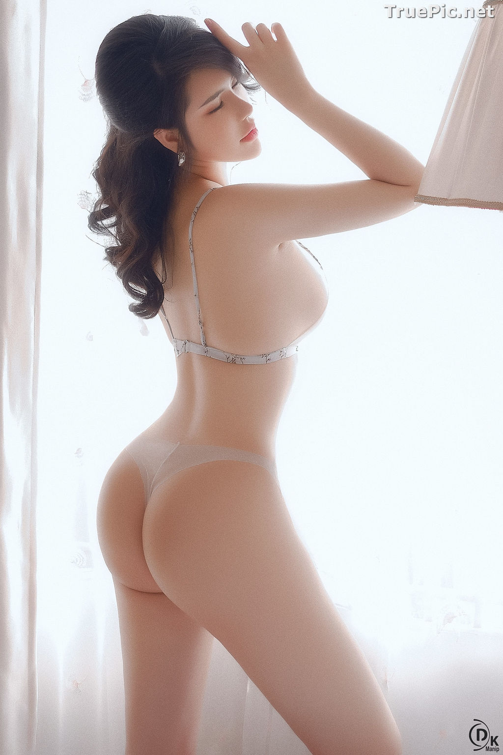 Image Vietnamese Model - Beautiful Girl in Sexy Transparent White Lingerie - TruePic.net - Picture-9