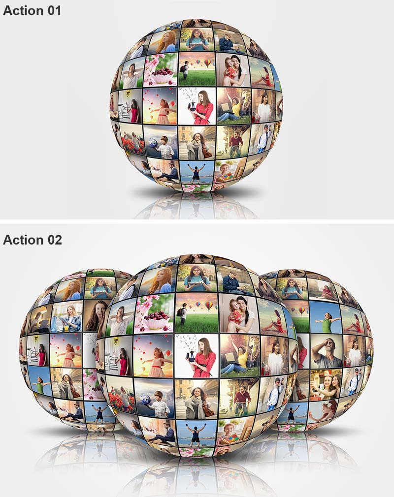 Spherical Photo Gallery Creator PS Action
