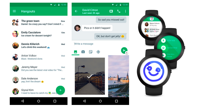 official google blog  google hangouts  now simpler  faster