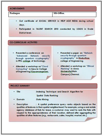 Excellent Resume Format. Resume Blog Co Excellent Resume Format