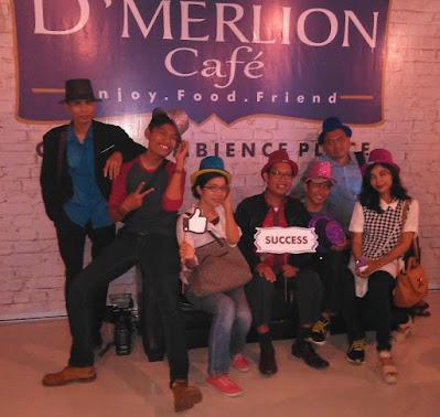 poto di D Merlion kafe