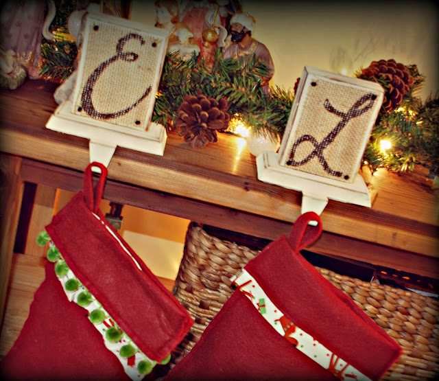 Snippets Of Creations Diy Personalized Christmas Stocking