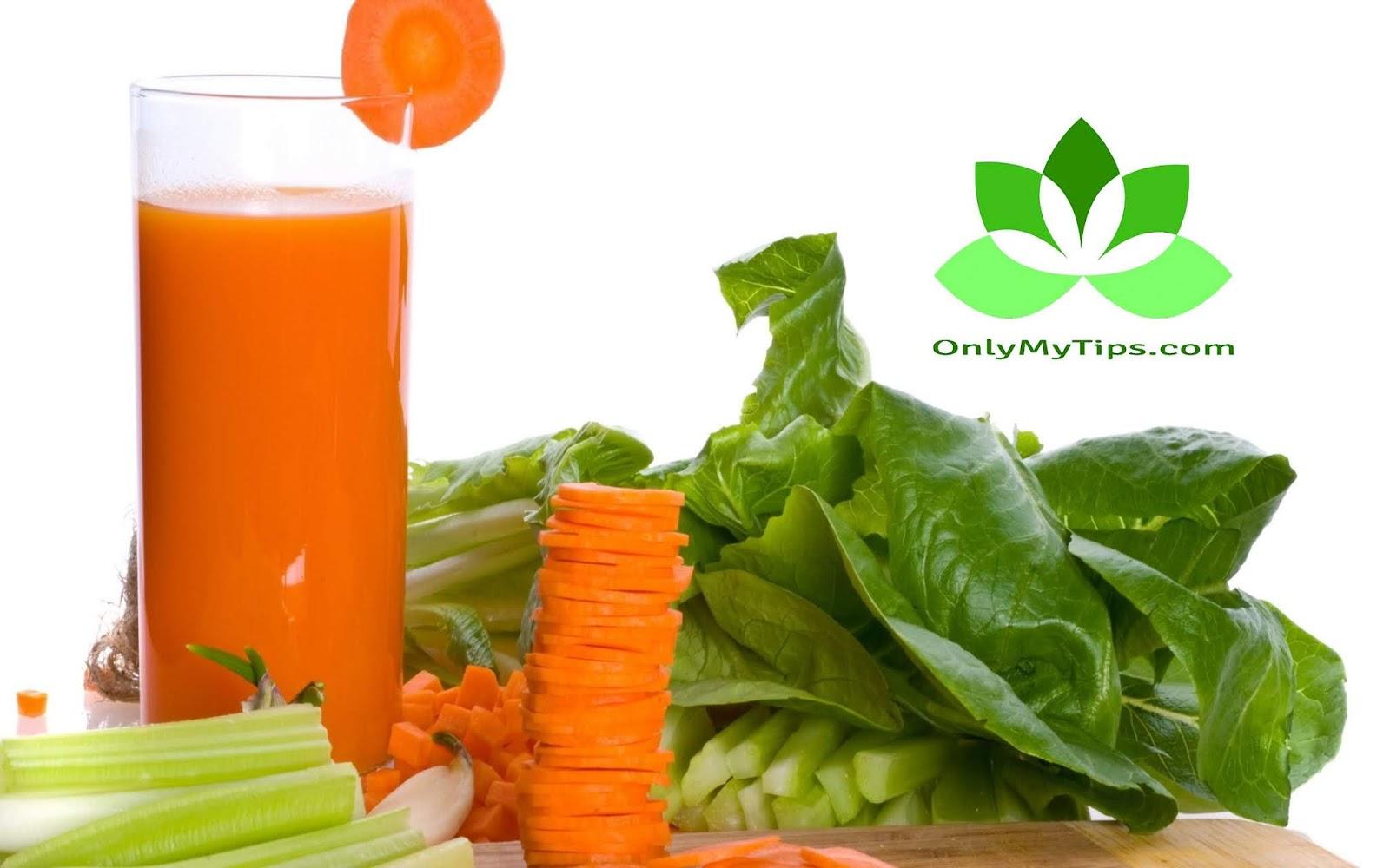 गाजर पालक रस Carrot Spinach Juice