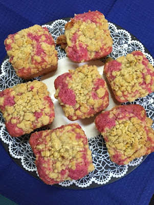"""BAKE from scratch"" Beet & Goat Cheese Muffin"