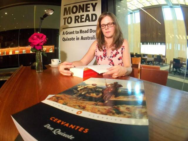 el club de los libros perdidos, money to read, quijote, España, noticias, Embajada de España, cervantes,