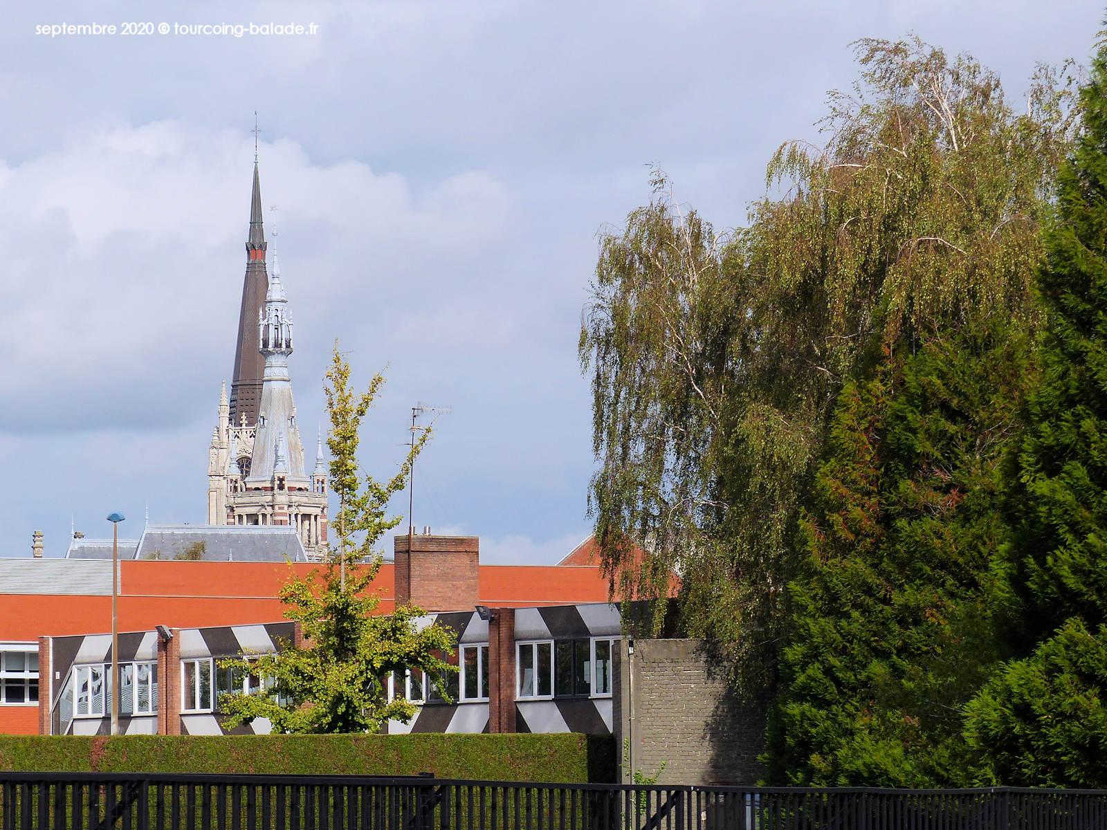 Beffroi et église Saint Christophe, Tourcoing 2020