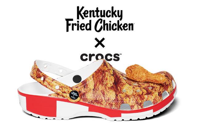 Salen al mercado los Crocs de Kentacky Fried Chicken
