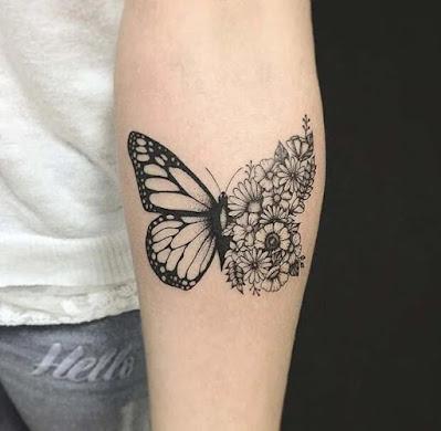neck tattoos, forearm tattoos