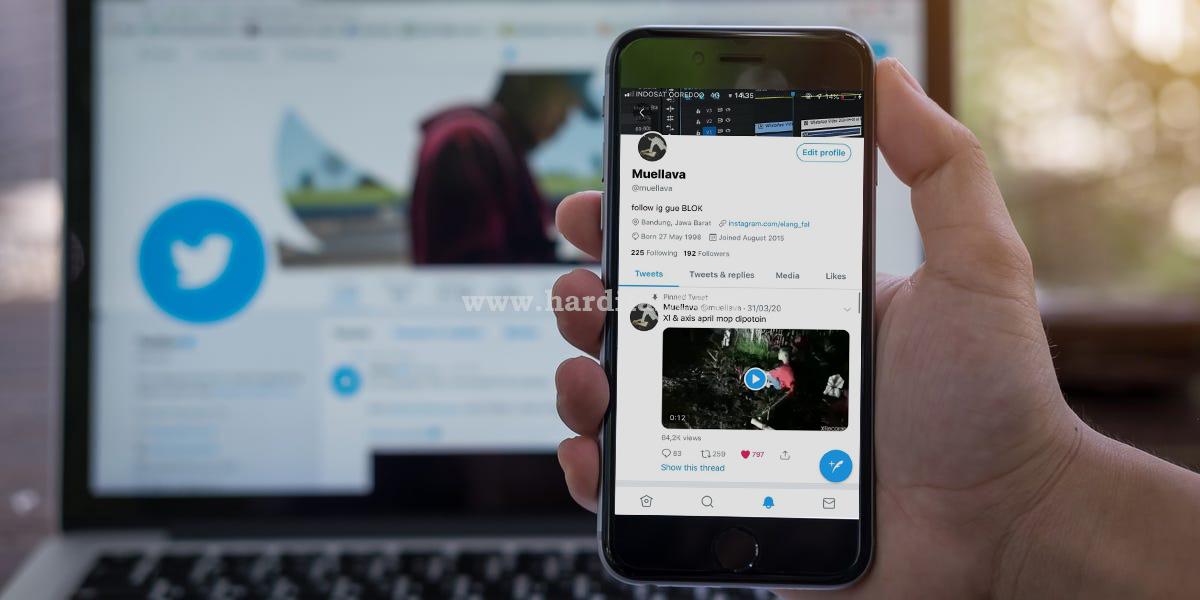Cara download video dari twitter tanpa aplikasi -