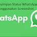 Cara Menyimpan Status WhatsApp Tanpa menggunakan Screenshot