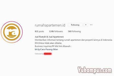 contoh bio instagram online shop untuk properti
