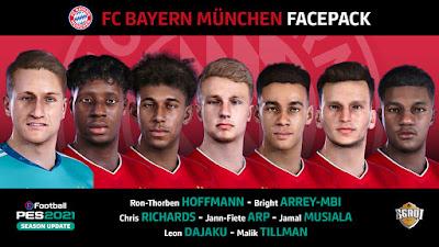 PES 2021 Facepack FC Bayern Munchen by EgaOi