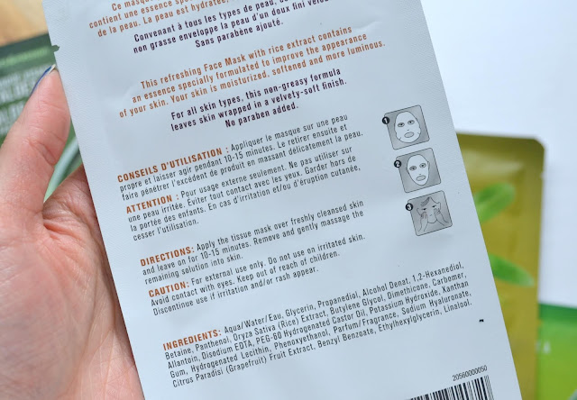 Fruits and Passion Sheet Mask Review