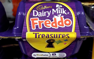Cadbury freddo treasures chocolate
