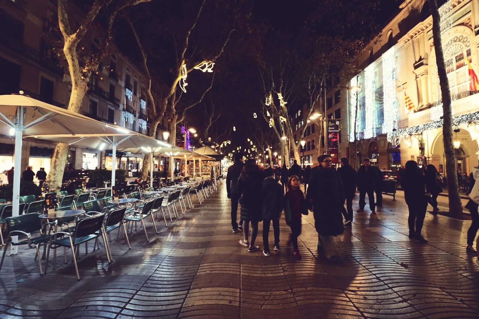 La Rambla, Barcelona, atrakcje Barcelony