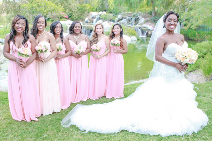 Glam Real Wedding In Southern California