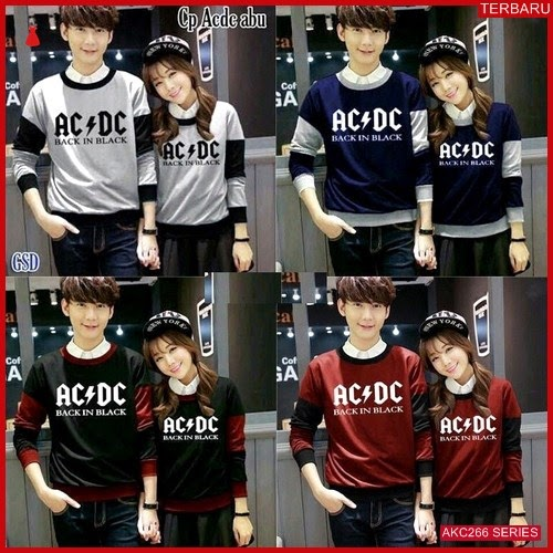 AKC266S182 Sweater Couple Sport Anak 266S182 Pasangan ACDC BMGShop