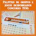 Palpites lotomania 1936 grupos e jogos desdobrados