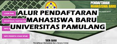Alur Pendaftaran Mahasiswa Baru Universitas Pamulang (Maba Unpam)