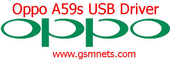 Oppo A59s USB Driver Download