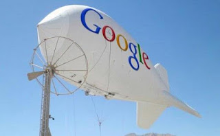 balon udara buatan google untuk memancarkan sinyal wifi