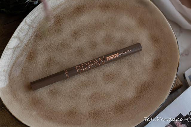 Фломастер для бровей Catrice Brow Definer Brush Pen Longlasting в оттенке 040 Ash Brown
