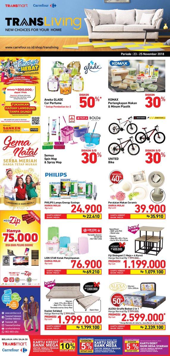 Carrefour - Promo Katalog Hebat Akhir Pekan Periode 23 -25 November 2018