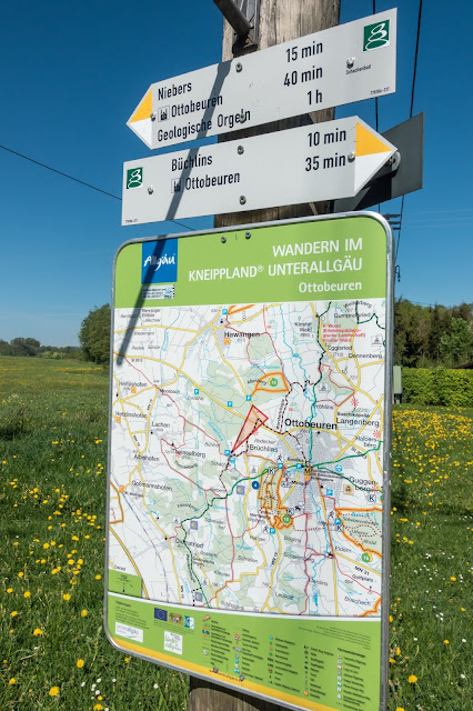 Wandertrilogie-Allgäu  Etappe 5 Ottobeuren – Bad Grönenbach  Wiesenganger-Route 09