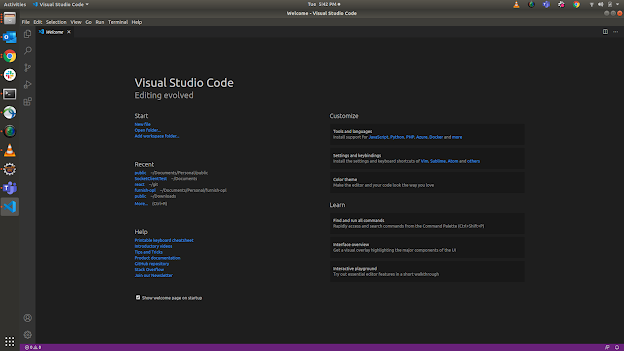 Visual Studio Code Home Page